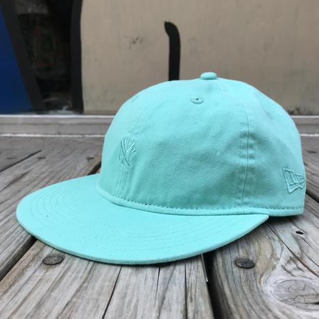"""【残り僅か】NEWERA """"small NY logo"""" adjuster cap (Light Green)"""