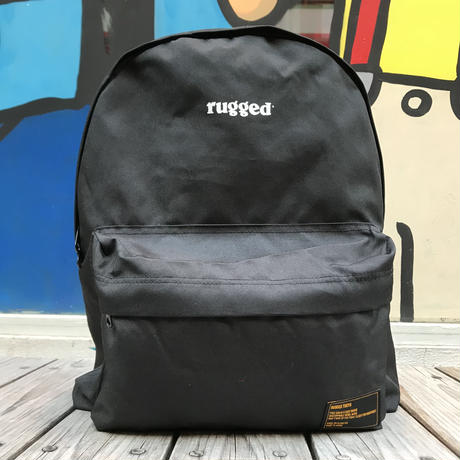 "【ラス1】RUGGED ""rugged®️"" daypack (Black)"