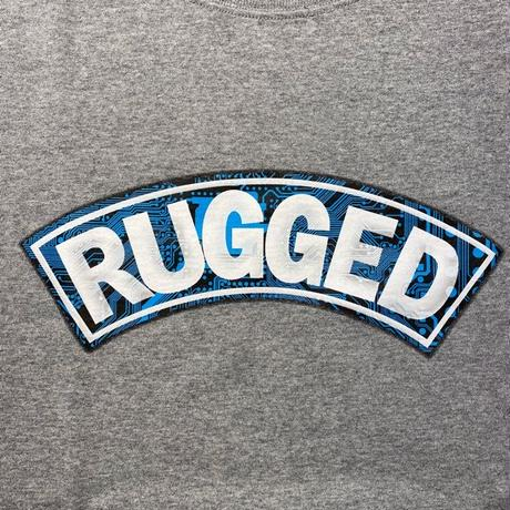 "【残り僅か】RUGGED ""CIRCUIT ARCH"" heavy weight tee (Gray)"