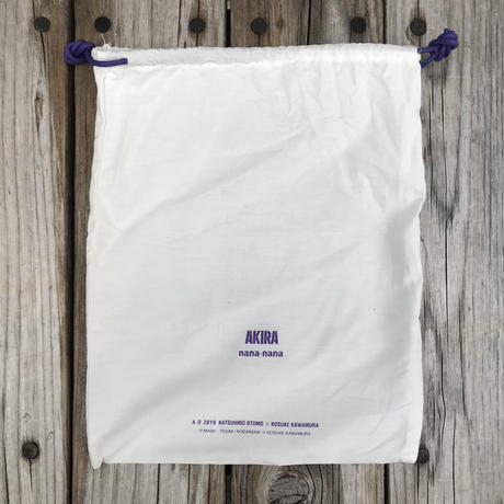 【残り僅か】AKIRA Art of Wall x nana-nana A5 Clear Bag (Purple)