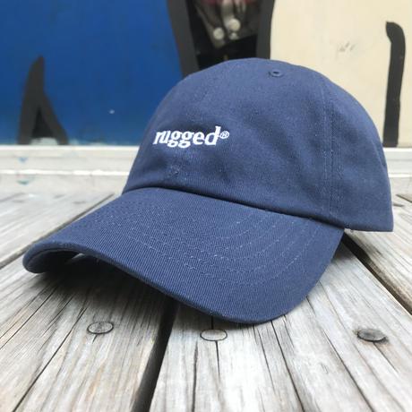 """【残り僅か】RUGGED """"rugged®︎""""  adjuster cap  (Navy)"""