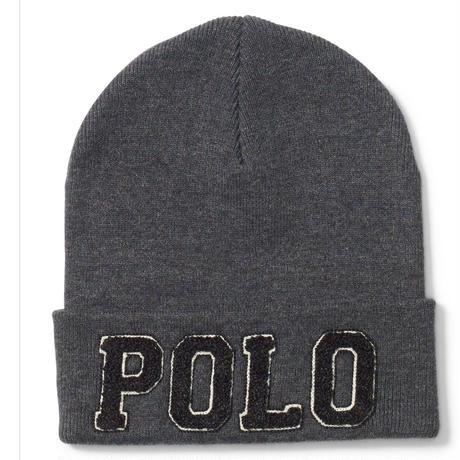 """【ラス1】POLO RALPH LAUREN  """"POLO logo"""" beanie"""
