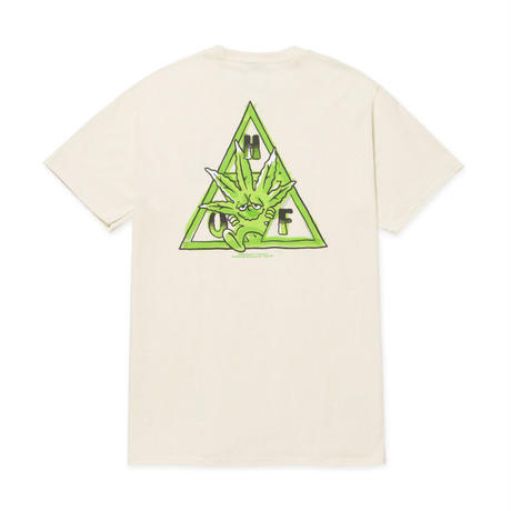 【ラス1】HUF GREEN BUDDY TT S/S TEE (Natural)