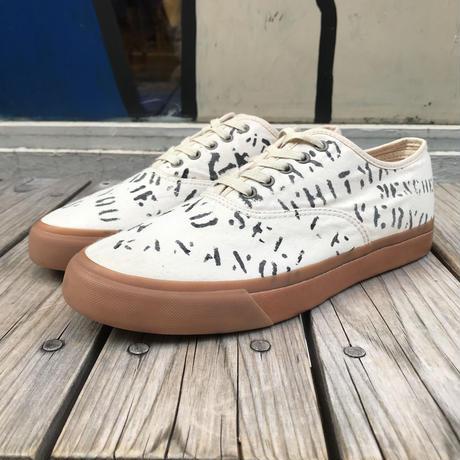 """【ラス1】RRL """"Norfolk"""" Canvas Sneaker (Off White)"""