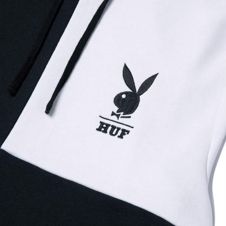 HUF × PLAYBOY COLOR BLOCK P/O HOODIE