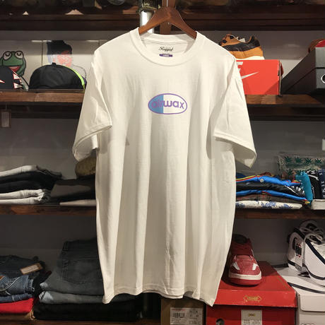 "【残り僅か】RUGGED ""airwax"" tee  (White)"