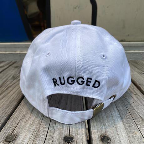 """【ラス1】RUGGED """"controller"""" adjuster cap (White)"""