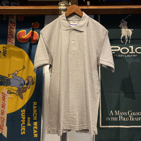 "RUGGED ""old R"" polo-shirt (Gray)"