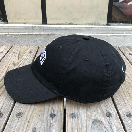 【残り僅か】RUGGED ''ARCH LOGO'' adjuster cap (Black)