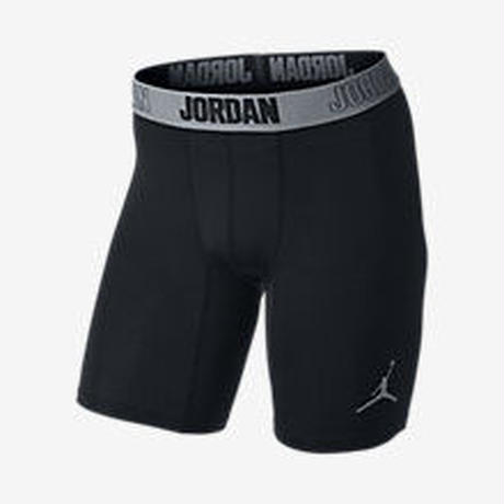 【残り僅か】JORDAN  15cm AJ ALL SEASON CONPREION MENS TRAINING SHORTS  (Black)