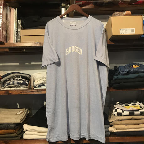 "【ラス1】RUGGED on vintage ""SMALL ARCH"" tee (H.Blue)"