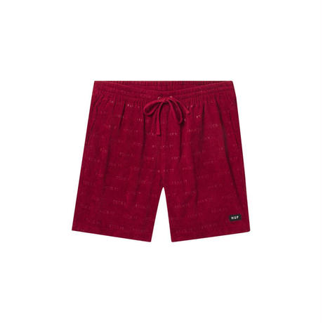 【ラス1】HUF ''FUCK IT'' CORDUROY EASY SHORT