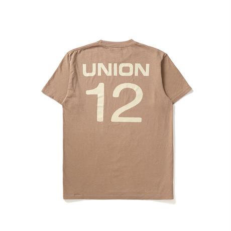 【ラス1】UNION front man IV tee (Earth)