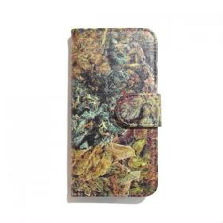 "【ラス1】visualreports ""REAL FOREST"" 手帳型 iPhone case"