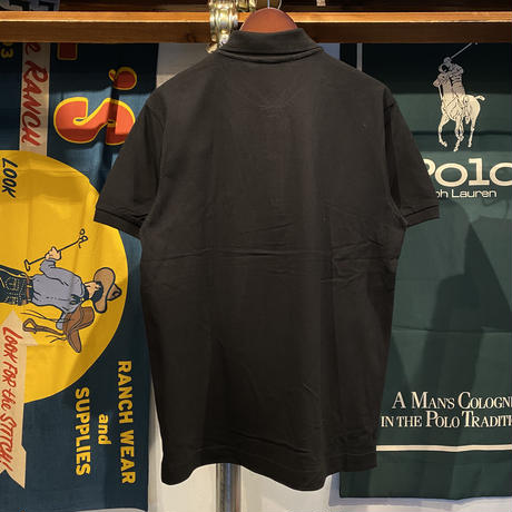 "【残り僅か】RUGGED ""old R"" polo-shirt (Black)"
