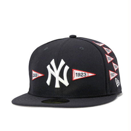 "【残り僅か】 NEWERA  ""Spike Lee Joint"" Pennant cap (Black)"