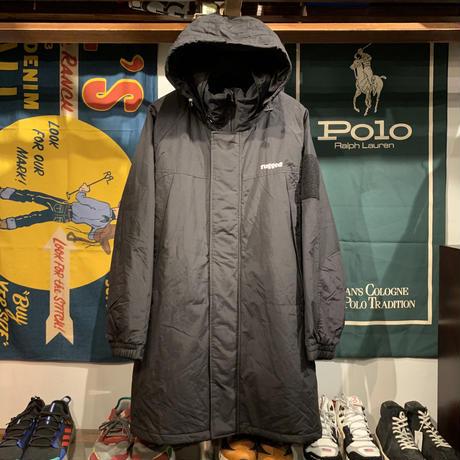 """【ラス1】RUGGED """"rugged®︎"""" long nylon coat (Black)"""
