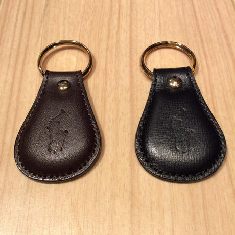 POLO RALPH LAUREN leather keyring