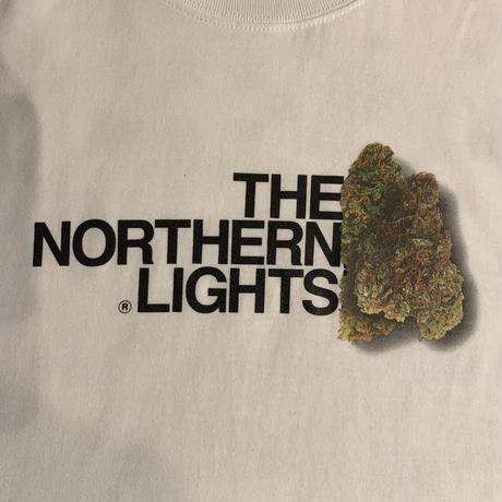 """【ラス1】RUGGED """"THE NORTHERN LIGHTS""""  L/S tee (White)"""