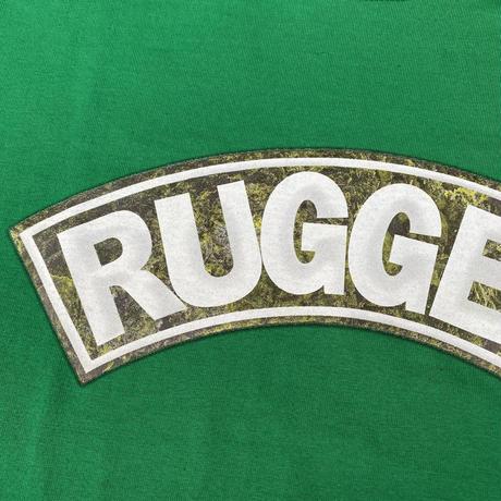 """【ラス1】RUGGED """"SUPER HIGH GRADE"""" tee (Green)"""