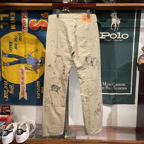 "【Web限定】RUGGED on vintage ""JAPAN ANIMAL"" chino pants ③"