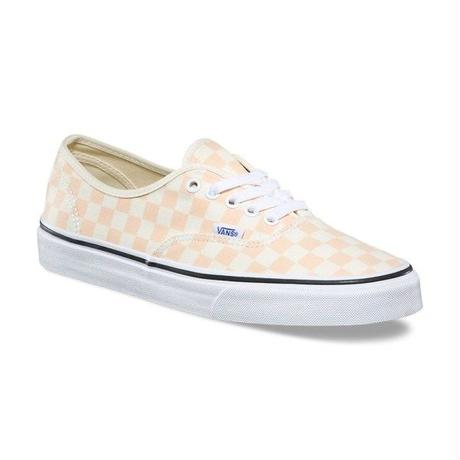 【残り僅か】VANS Authentic Checkerboard (Apricot)