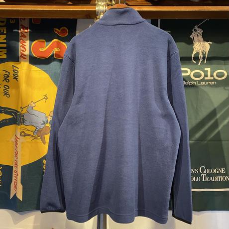 """【ラス1】RUGGED """"rugged®️"""" tag fleece jacket (Navy)"""