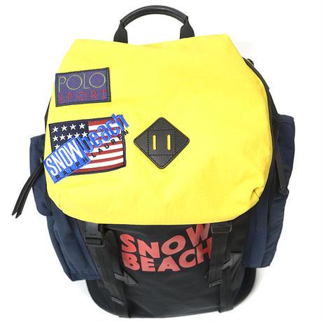 "【web限定】POLO RALPH LAUREN ""SNOW BEACH "" Backpack"