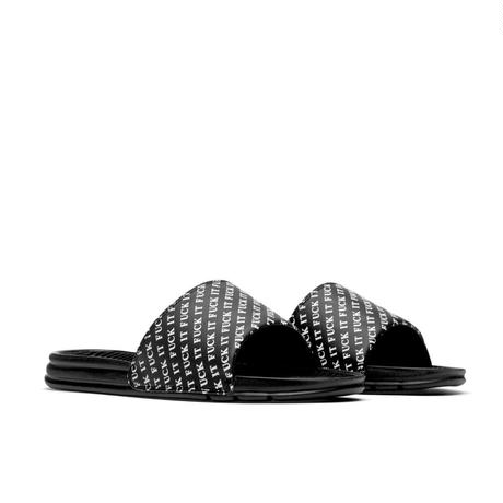【残り僅か】HUF FUCK IT SLIDE (BLACK)