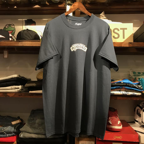 "【残り僅か】RUGGED ""POUNDING THE ROCK"" tee  (Navy)"