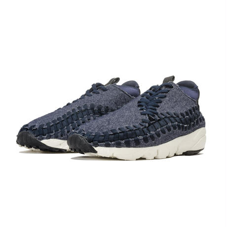 "【ラス1】NIKE  ""AIR FOOTSCAPE WOVEN CHUKKA SE"" (Navy/White/Black)"