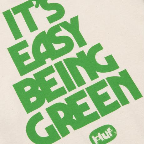 【ラス1】HUF EASY GREEN S/S TEE (Natural)