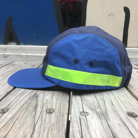 【残り僅か】FILA 5panel side tape adjuster cap (Blue)