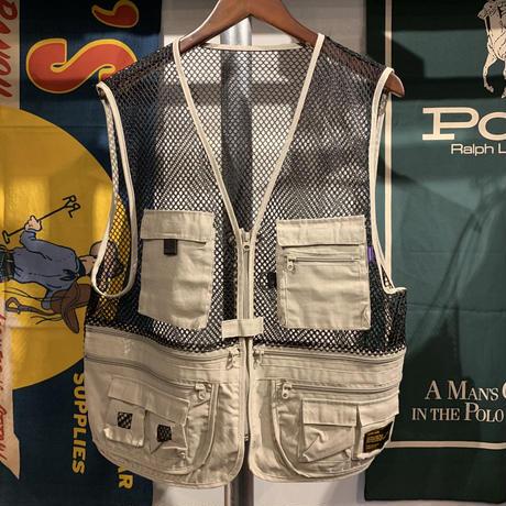 【残り僅か】RUGGED mesh vest (Beige)