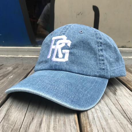 RUGGED ''TOKYO JOINTS'' adjuster cap (Light Denim)