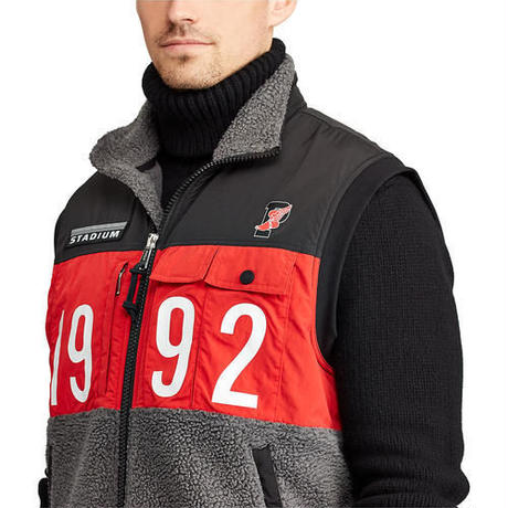 【ラス1】POLO RALPH LAUREN WINTER STADIUM HYBRID VEST (Black)