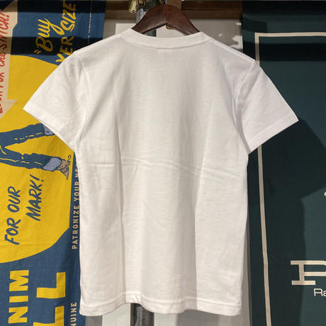 """RUGGED """"SMALL ARCH"""" kids tee (White)"""