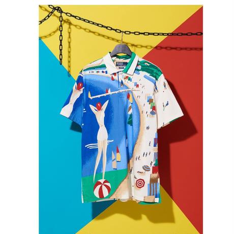 "【web限定/ラス1】POLO RALPH LAUREN ""RIVIERA ITALIA"" polo shirt"