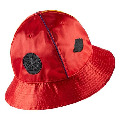 【ラス1】NIKE JORDAN RIVALS SATIN bucket hat (Red)