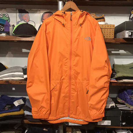 "【ラス1】THE NORTH FACE ""HYVENT/BAKOSSI"" jacket (Mandarine)"