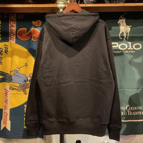 """【ラス1】RUGGED """"LOVE"""" heavy-weight sweat hoodie (Black/12.7oz)"""