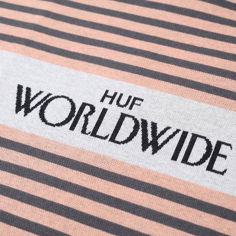 【残り僅か】HUF ARCHIVE S/S KNIT TOP (Canyon Sunset)