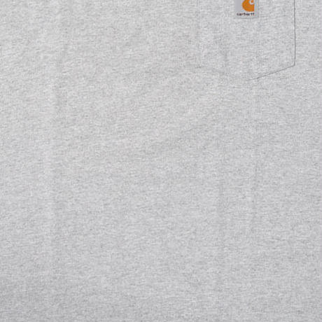 【web限定】Carhartt pocket tee (Gray)