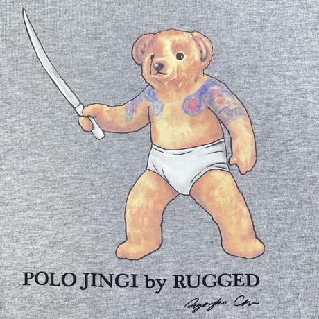 """【ラス1】RUGGED """"POLO JINGI"""" L/S tee (Gray)"""