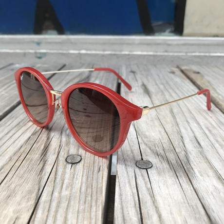 "【残り僅か】RUGGED ""Boston"" sunglasses (Red)"