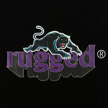 "RUGGED ""BLACK PANTHER"" tee (Black)"