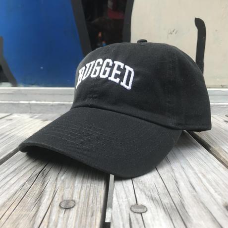 【ラス1】RUGGED ''ARCH LOGO'' adjuster cap (Black×White)