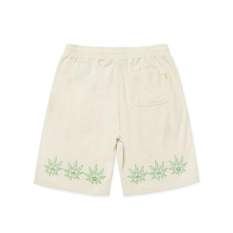 【ラス1】HUF GREEN BUDDY TERRY CLOTH SHORT (Natural)