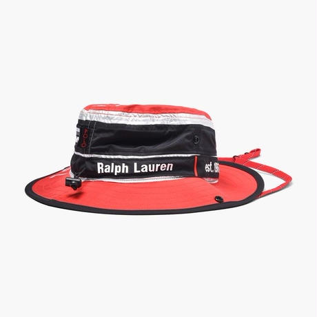 "【ラス1】POLO RALPH LAUREN ""WINTER STADIUM"" backet hat (Red)"