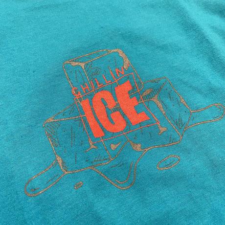 """【ラス1】RUGGED """"CHILLIN' ICE 2021"""" tee (Tarquoise)"""